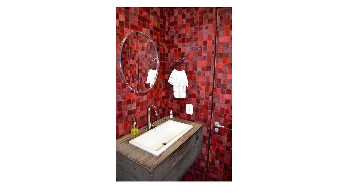 Hair on Hide Tiles & Panels for Bathroom Wall Coverings
