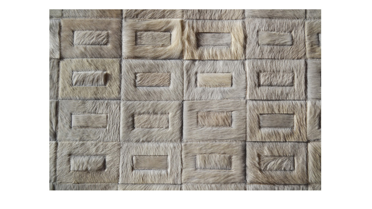 Hair on Hide Tango Design Panels for Wall Coverings