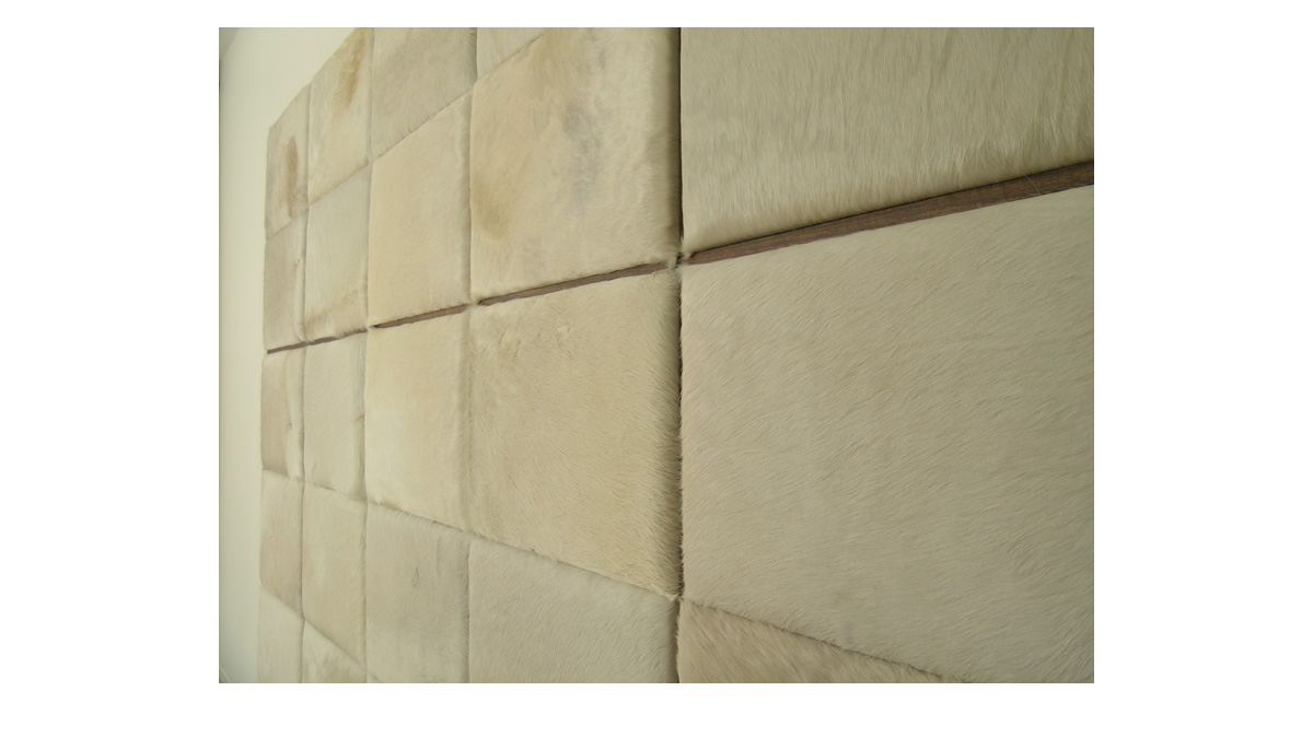 Hair on Hide Tiles for Wall Coverings