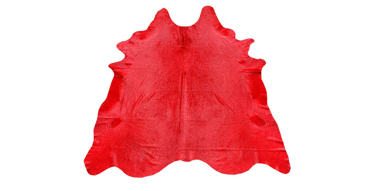 Dyed Red Cowhide - DC6
