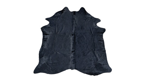 Dyed Black Cowhide - DC5