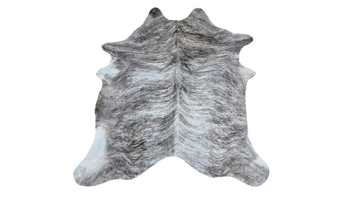 Grey & White Brindle Cowhide - ONC3