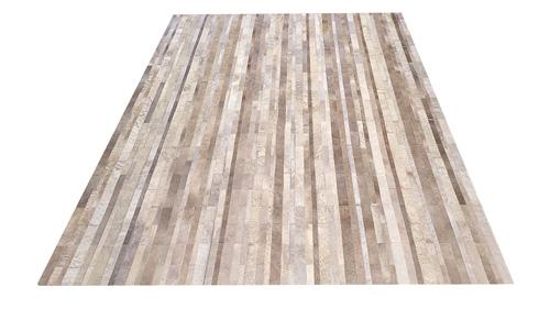 Stripes Cowhide Rug - Desert Tones - S4