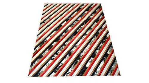 Stripes Cowhide Rug - Diagonal - S9