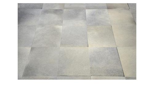 Grey Cowhide Rug - Large Tile design - G13