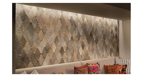 Hair on Hide Sherazade Design Panels for Wall Coverings